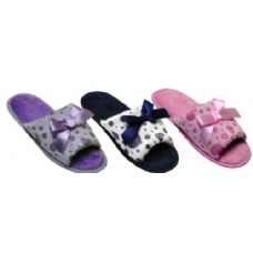 Wholesale Footwear heart and bow slipper