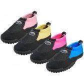 """Wholesale Footwear Women's Mesh Upper """"wave"""" Water Shoes"""