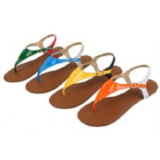 Wholesale Footwear Ladies' Fashion Sandals Assorted Colors