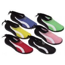 Wholesale Footwear Ladies' Aqua Socks Assorted Colors