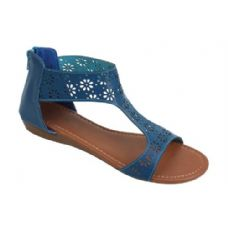 Wholesale Footwear Ladies' Fashion Sandals Navy
