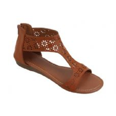 Wholesale Footwear Ladies' Fashion Sandals Brown