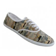 Wholesale Footwear Women's Print Canvas Shoes