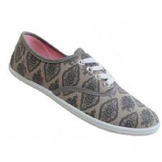 Wholesale Footwear Women's Print Canvas Shoes