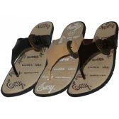 Wholesale Footwear Men's Easy Sport Flip Flops
