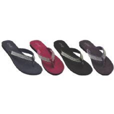 Wholesale Footwear Ladies Sandal /flip Flop With Designer Strap