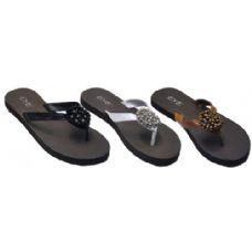 Wholesale Footwear Ladies Flip Flop With Pendant