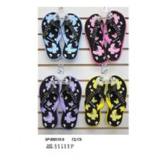 Wholesale Footwear Ladies Printed Flip Flop