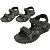 Wholesale Footwear Men's Velcro Strap Sandals