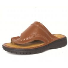 Wholesale Footwear Men's Pu Fishermen Brown Sandals