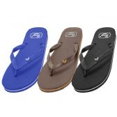 Wholesale Footwear Men's Rubber Zory Flip Flops
