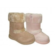Wholesale Footwear Baby's Zippered Winter Boots