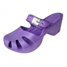 Wholesale Footwear Women Wedge Sandals(Purple Color Only)