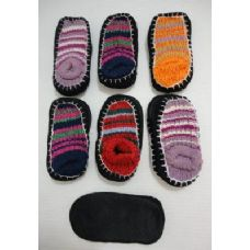 Wholesale Footwear Kids NoN-Slip Knitted Booties 6-8