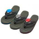 "Wholesale Footwear Men's ""real"" Sport Fabric Thong Sandal"