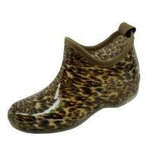 Wholesale Footwear Women's Printed Leopard Garden Shoes