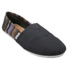 Wholesale Footwear Girls' Canvas Shoes Black Only