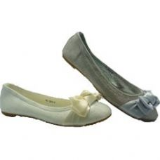 Wholesale Footwear Ladies Fashion Flats With Bow