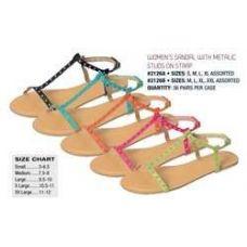 """Wholesale Footwear """"isadora"""" Womens Sandal"""