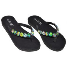 Wholesale Footwear Ladies Flip Flops With Stones