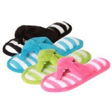 Wholesale Footwear Terry Womens Thong Slipper