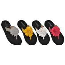 Wholesale Footwear Ladies Flower Sandal
