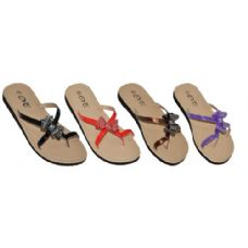 Wholesale Footwear Ladies Summer Sandal With A Bow.