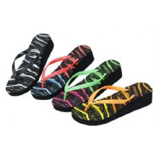 Wholesale Footwear Ladies Colorful Summer FliP-Flop