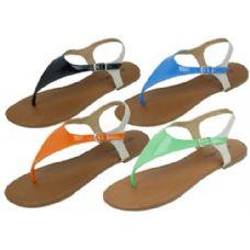 Wholesale Footwear Ladies Fashion Sandals Size 5-10