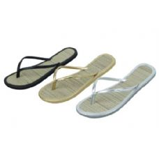 Wholesale Footwear Ladies Bamboo Flip Flop