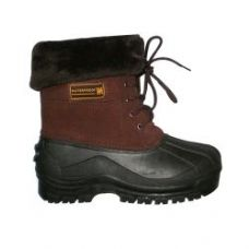 Wholesale Footwear Ladies Rain Boot In Brown