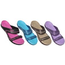 Wholesale Footwear Ladies Solid Crogs Sandals
