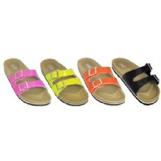 Wholesale Footwear Ladies Solid Color Sandal