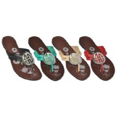 Wholesale Footwear Ladies Printed Fashion Sandals