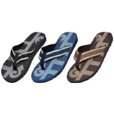 Wholesale Footwear Mens Fashion Flip Flops Assorted Colors