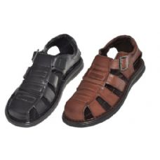 Wholesale Footwear Mens Summer Sandals In Brown And Black