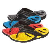 Wholesale Footwear Men's Massage Sole Flip Flops