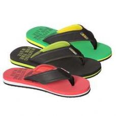 Wholesale Footwear Men's Flip Flops Assorted Color