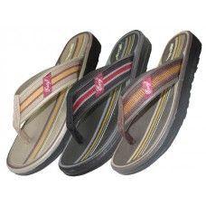 Wholesale Footwear Men Gel Insole Flip Flops