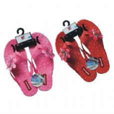 Wholesale Footwear Ladies Flip Flops With Flowers