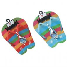 Wholesale Footwear Ladies Rainbow Flip Flops