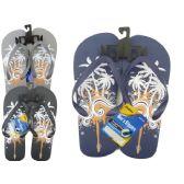 Wholesale Footwear Mens Printed Summer Flip Flop