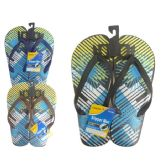 Wholesale Footwear Mens Printed Flip Flops