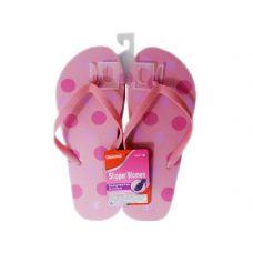 Wholesale Footwear Ladies Dotted Flip Flops