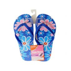 Wholesale Footwear Ladies Assorted Print Flip Flops