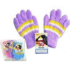 Wholesale Footwear Kids' Fuzzy Gloves, 18g