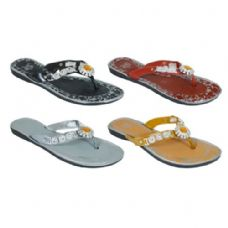 Wholesale Footwear Ladies Summer Flip Flops