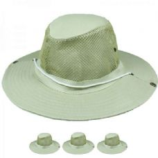Wholesale Footwear MEN SUMMER HAT ONE COLOR