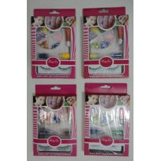 Wholesale Footwear Nail Gem Kit With Eyelashes