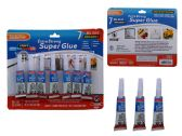 Wholesale Footwear GLUES 7PCS SUPER GLUES (2G)